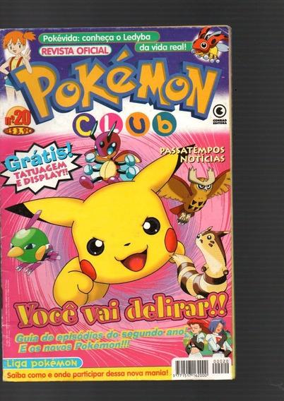 Revista Pokémon Club Passatempos Notícias Nº 20