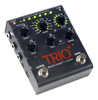 Pedal De Efeito Digitech Trio + Plus Band Creator Loop