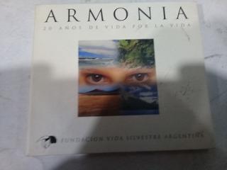 Cd Armonia Fundacion Vida Silvestre S Romano En La Plata=