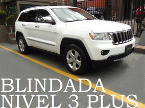 Grand Cherokee 2013 Blindada Nivel 3 Plus Blindaje Blindados