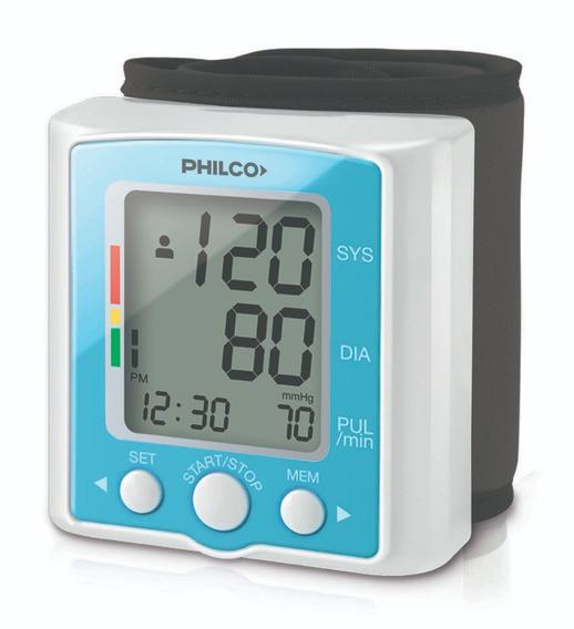 Tensiómetro Digital De Muñeca Philco 60 Memorias Tm100