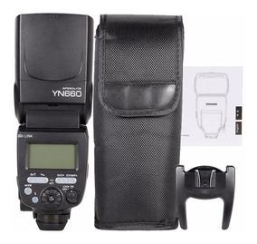 Flash Yongnuo Yn-660 2.4g Gn66 Canon Nikon Sony Universal
