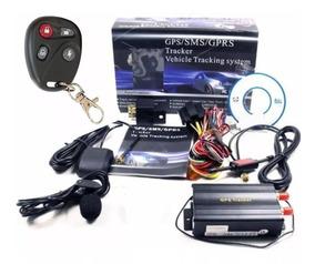 Rastreador Tk-103 B Gps Bloqueador Veicular Controle Remoto