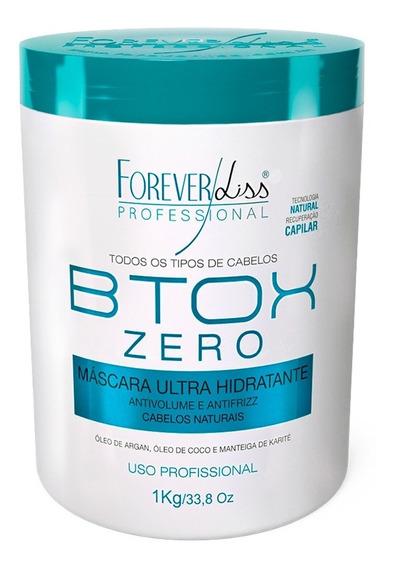 Forever Liss Máscara Btx Zero Hidratante Sem Formol 1kg