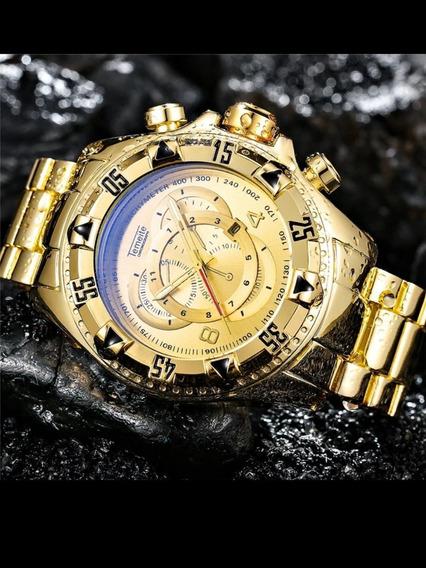 Relógio Temeite Original Dourado