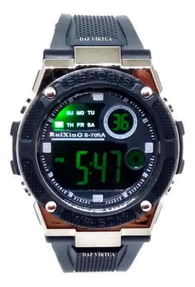 Relógio Esportivo Treino Led Digital Prova Dágua Rx Original