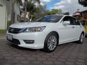 Honda Accord 3.5 Ex-l Sedan V6 Piel Abs Qc Cd Nav Cvt