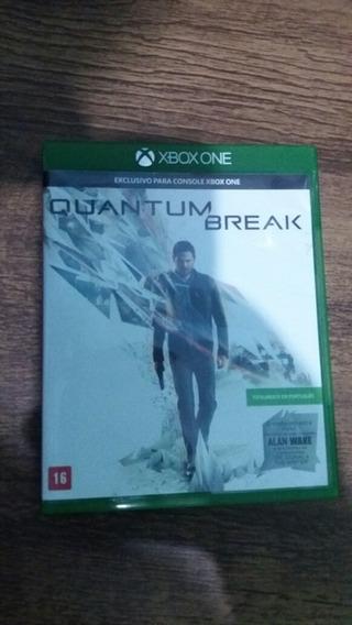 Quantum Break Xbox One Semi Novo/ Midia Física100% Português