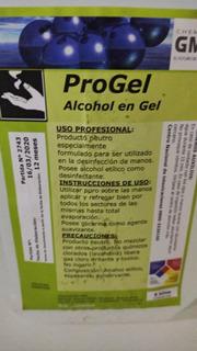 Alcohol Sanitizante En Gel