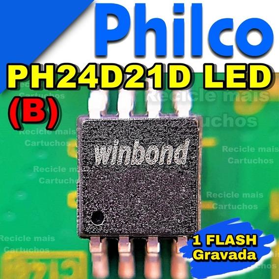 Memoria Flash Tv Philco Ph24d21d (b) Led Bios Chip Gravada