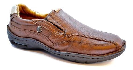 Zapato Ringo Confort Cuero Con Burbuja - Evolution01marrón