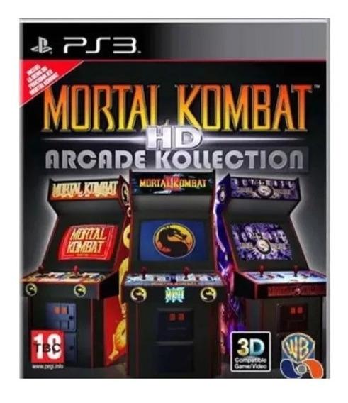 Mortal Kombat Arkade Edition Ps3 Psn Jogo Envio Já