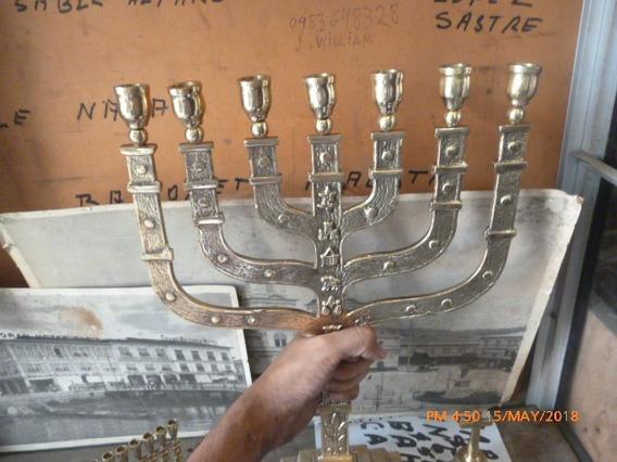 Venta De Candelabro Judío De 7 Velas En Guayaquil Ecuador