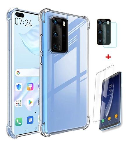 Imagen 1 de 9 de Kit Carcasa Samsung Note 20 Ultra + Lamina Y Cam Hidrogel