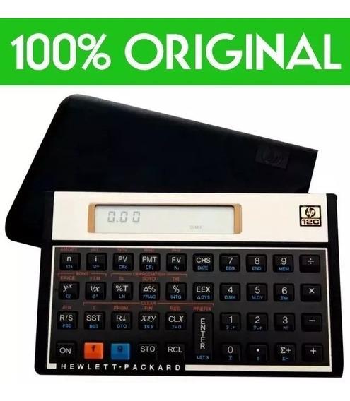 Calculadora Financeira Hp12c Gold Original Frete Gratis