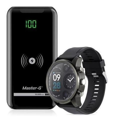 Cargador Portátil Power Bank 10000 Mah + Reloj Smart Watch M