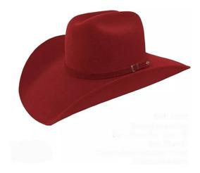 4db8ca610b Chapéu Vermelho Cowboy Country Masculino Feminino Americano