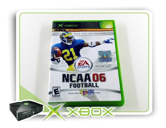 Ncaa Football 06 Original Xbox Clássico Ntsc