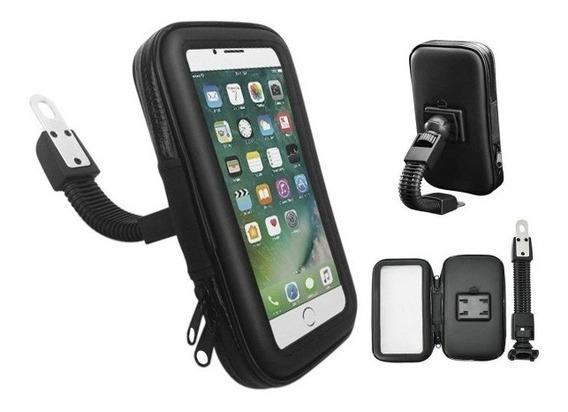 Soporte Funda Impermeable Touch Celular Y Gps Moto Bici - Xp