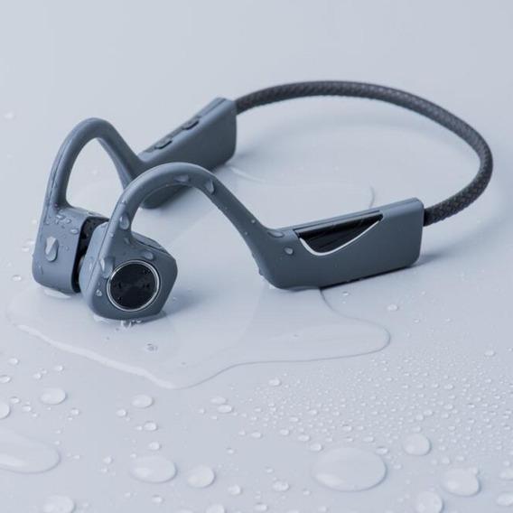 Fone De Ouvido Bluetooth Sem Fio Condução Óssea Esporte