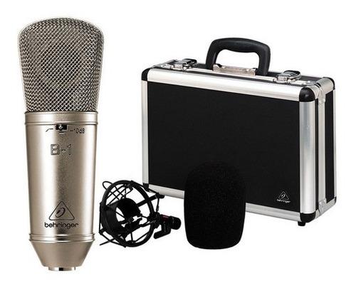 Imagen 1 de 6 de Ftm Microfono Condenser Behringer B1 - Diafragma Grande