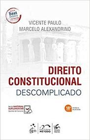Direito Constitucional Descomplicado - Novo - 2019 - Lacrado