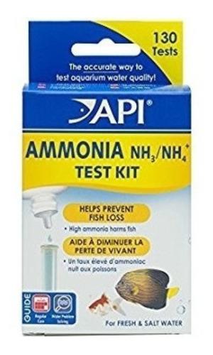 Api Kit Pruebas Ammonia Nh3/ Nh4 Test Kit 130 Test Acuario