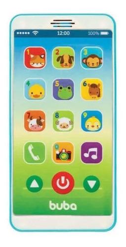 Imagem 1 de 3 de Baby Phone Azul - Buba