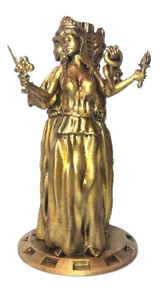 Figuras Triple Diosa Hécate 25cm Estatua (impresión 3d) Pla
