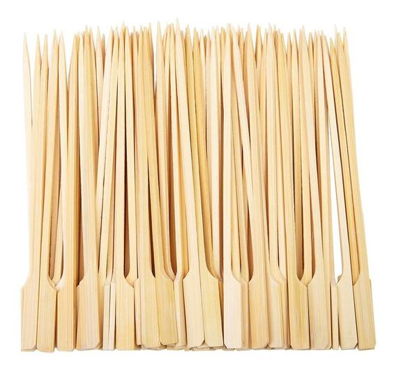 Pincho De Bambu O Brochetas 15cm X Paq 100 Und