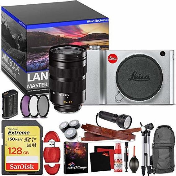 Leica Tl2 Mirrorless Digital Camara Silver Master Landscap ®