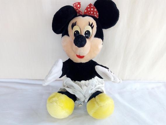 Pelucia Minnie Mouse Antiga Disney Disneyland