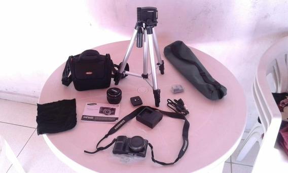 Câmera Máquina Samsung Nx 1000 Profissional. Zerada!