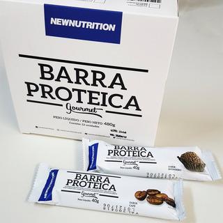 Barra De Proteína Gourmet Cx. 12 Unidades