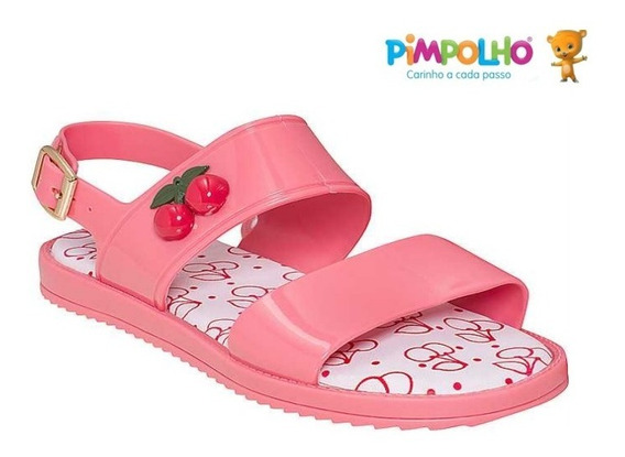 Sandália Feminina Palmilha Conforto Pimpolho Colorê 40040
