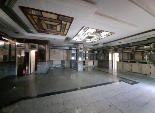 Imagem 1 de 20 de Salão Para Alugar, 350 M² Por R$ 5.300,00/mês - Parque Das Nações - Santo André/sp - Sl0987