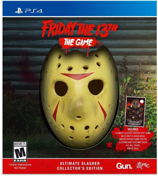 Friday The 13th The Game Ultimate Slasher Collectors Ed Ps4