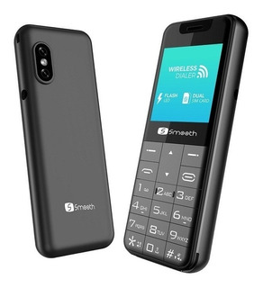 Teléfono Mini Celular Smooth Link Bluetooth, Wireless, Mp3,