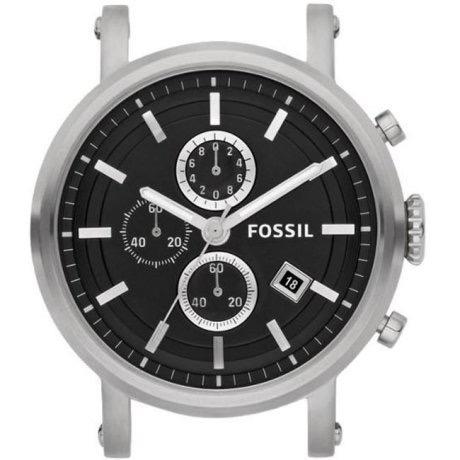 Relógio Masculino Fossil Aço Inox Cronógrafo Com Pulseira