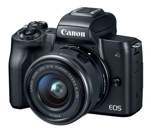Canon Eos M50 Con Lente 15-45mm Stm Is Camara Mirrorless