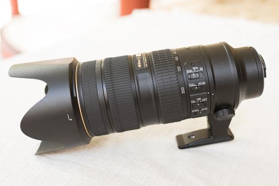 Lente 70-200mm F/2.8g Ed Vr Ii