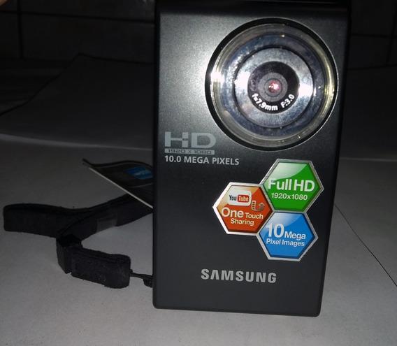 Filmadora Samsung Hmx - U10 Preta 10.0