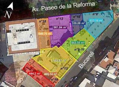 (crm-92-9659) Juárez , Terreno Venta , Cuauhtémoc, Cdmx