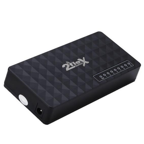 Switch Hub 8 Portas Internet Modem Roteador Rj45 Computador