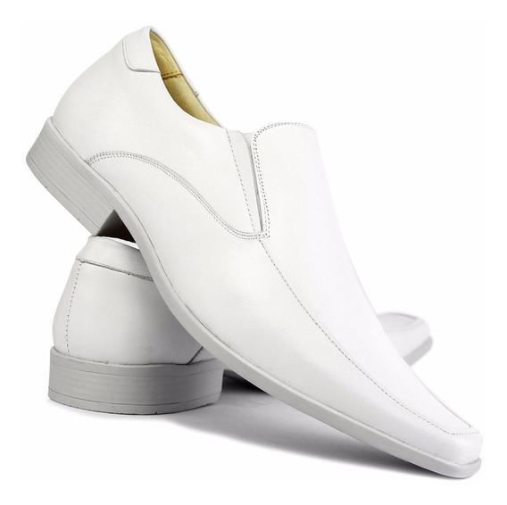 Sapato Social Masculino 100% Couro - Super Oferta