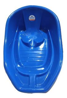 Bañera Bebé Plástico Reforzado Con Respaldo