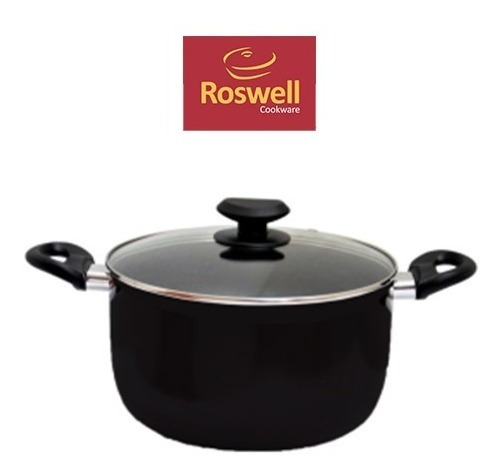 Cacerola N°24 Roswell Classic Black Teflon Antiadherente