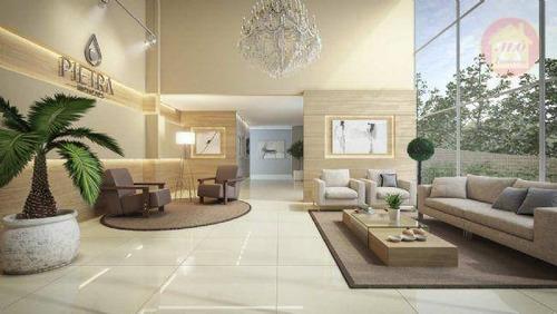 Apartamento À Venda, 124 M² Por R$ 729.903,50 - Canto Do Forte - Praia Grande/sp - Ap5136