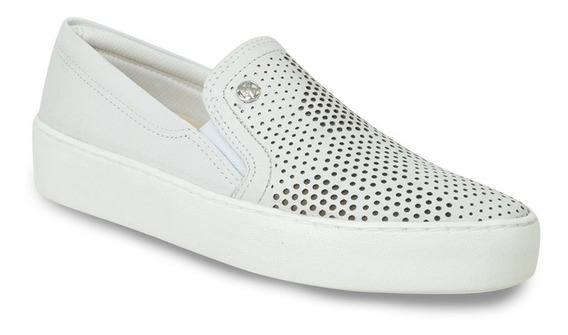 Tênis Casual Slip On Bottero Recortes A Laser 301009