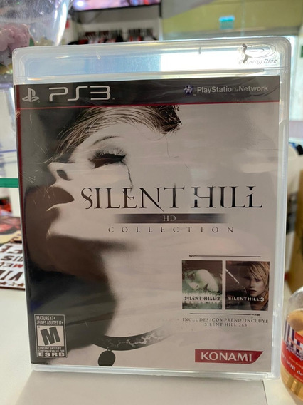 Silent Hill Hd Collection Ps3 Midia Fisica Lacrado